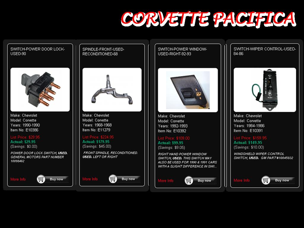 Save On Discount Corvette Parts