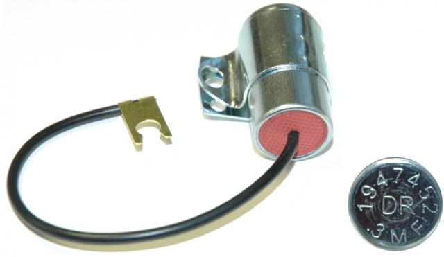 Corvette Capacitor Radio Ignition Coil Without Transistor