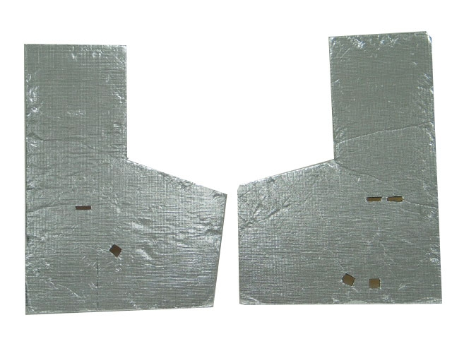 Corvette Insulation Blanket Under Body Pair 68 69