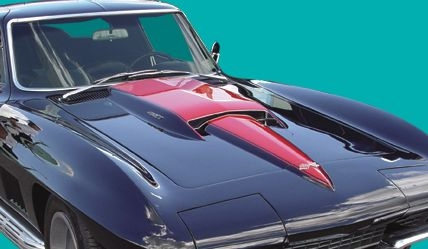 Corvette Stencil Kit Hood Stripe Stinger 427 67 E13756