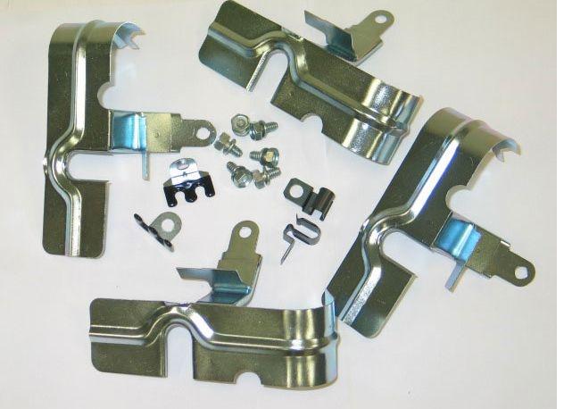 Corvette Stingray 1969 >> Corvette Heat Shield Kit Spark Plugs Small Block 58 69 ( # ...