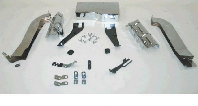 Corvette Ignition Shield Set Small Block 350 73 74