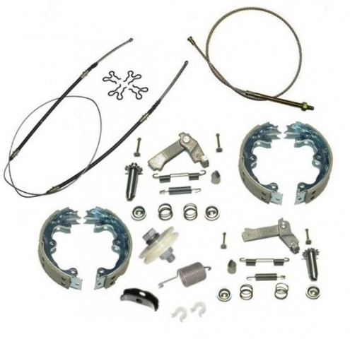 Corvette Cable Kit Parking Brake Stainless Steel Cables