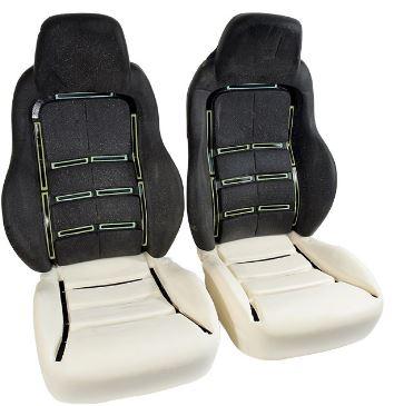 Corvette Foam Set Seat Standard 4 Pieces 05 10 E19617