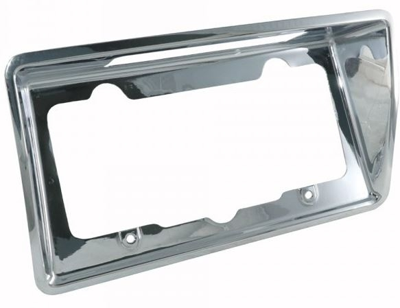 Corvette Bezel Rear License Chrome Usa 68 73    E22731
