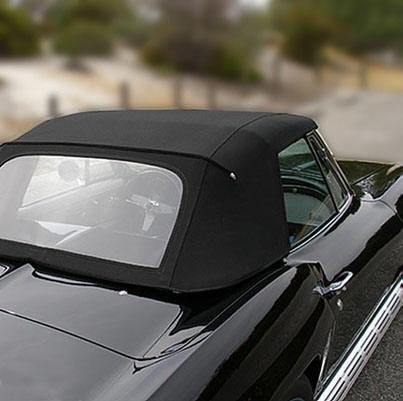 Corvette Convertible Top Kit Stay Fast Cloth 63 67 ( #E3016