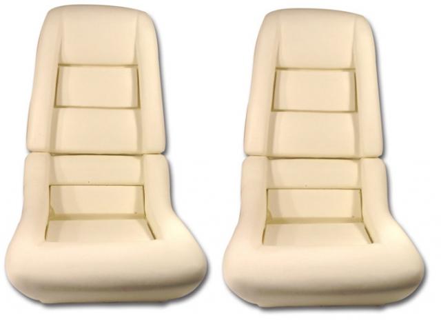Corvette Foam Set Seat 2 Inch 78 Pace Car 79 82 All 4 Pieces 78 82 E7054