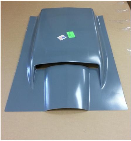 2014 Corvette Stingray For Sale >> Corvette Scoop Hood Hand Layup 427 Big Block 67 ( #E16805 ...