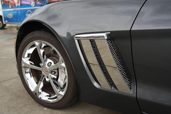 E on C4 Corvette Interior Trim