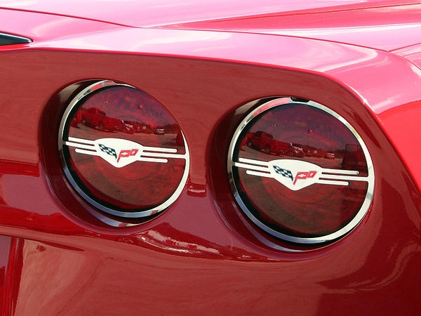 Corvette Light Cover Tail Lights Polished Executive Style