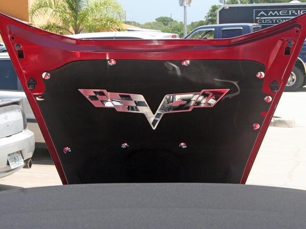 Corvette Fastener Kit Hood Pad Liner Stainless Steel 15