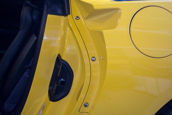 New Corvette Stingray >> Corvette Button Kit Door Jamb Chrome 6 Pieces 14 17 ( #E21789 ) | Corvette Pacifica