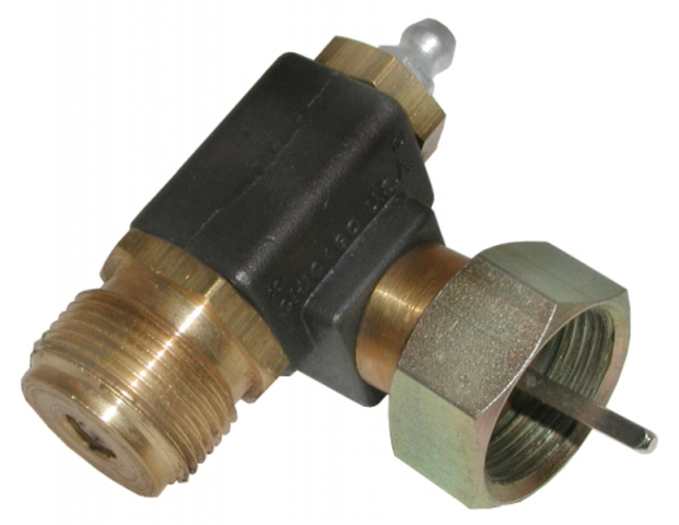 Corvette Adapter Tachometer Speedometer Cable 90 Degree Fitting 63 74    E3653