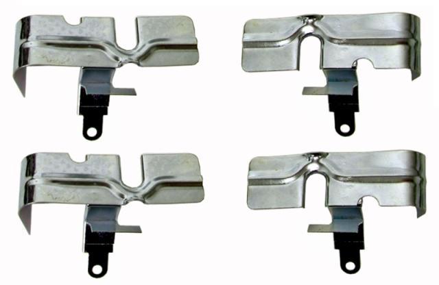 1957-1979 Corvette small block NEW set of 4 Spark Plug Heat Shield/'s