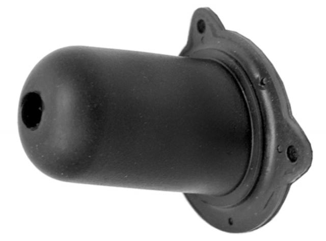 Corvette Boot Clutch Rod Firewall Black Rubber 68 81
