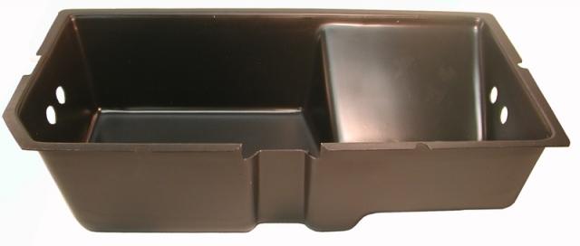 corvette storage compartment tray rear right side plastic 79l 82    ec518