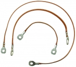 74611 GROUND STRAP SET-ALL WITH OUT POWER ANTENNA-3 PIECES-78-80