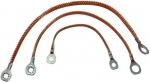 74612 GROUND STRAP SET-ALL WITH POWER ANTENNA-3 PIECES-79-80