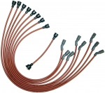 E14222 WIRE SET-SPARK PLUG-ALL V-8 BIG BLOCK L-88 AND ZL-1-DATED 12-69-REPRODUCTION-USA-69