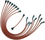E14223 WIRE SET-SPARK PLUG-ALL V-8 BIG BLOCK L-88 AND ZL-1-DATED 2-69-REPRODUCTION-USA-69
