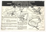 13026 INSTRUCTIONS-JACKING-20 GALLON GAS TANK-WITH KNOCK OFF WHEELS-63-66
