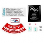 13081 DECAL KIT-ENGINE COMPARTMENT-350 HP-67