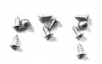 21033 SCREW SET-REAR WINDOW MOLDING-CLIPS-COUPE-24 PIECES-64-67