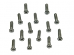 22062 SCREW SET-INTERIOR REAR WINDOW MOLDING-COUPE-14-PIECES-64-67