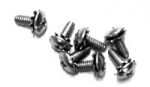 29012 SCREW SET-HARDTOP REAR LOWER MOLDING AND WEATHERSTRIP-10 PIECES-63-67