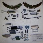4065 BRAKE PACKAGE-HARDWARE FRONT-63-64