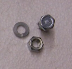 4121 BOLT,NUT,WASHER-EMERGENCY BRAKE PULLEY-64-66