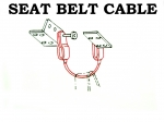 48084 CABLE-SEAT BELT CENTER-USA-65-69