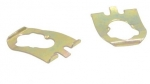 51025A RETAINER-DOOR LOCK PAWL-OVAL HOLE-PAIR-56-82