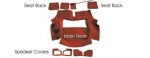 E10024 CARPET SET-REAR-CUT PILE-WITH PAD-81-82