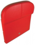E10027 PANEL-SEAT BACK-WITH UPPER SEAT TRIM AND VENTS INSTALLED-PAIR-65-66