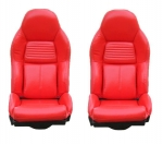E10719 COVER-SEAT-100% LEATHER-MOUNTED ON FOAM-STANDARD-94-96