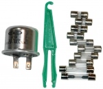 E11202 FUSE AND FLASHER KIT-12 PIECES-55-57