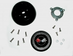 E11517 ADAPTER KIT-STEERING WHEEL-WITH STANDARD COLUMN-68-75 AND 77-82-FITS-76