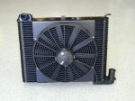 E11623 RADIATOR AND FAN COMBINATION-ALUMINUM-SMALL BLOCK-RESTORATION RADIATOR-63-72