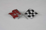 E12501 EMBLEM SET-FRONT SIDE FENDER-CROSS FLAG-PAIR-57