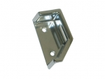 E12607 BEZEL-SEAT BACK RELEASE-ZINC-DIE CAST-POLIHSED & CHROME PLATED-68-69