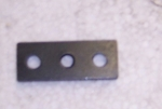 E12646 NUT PLATES AND RIVETS-REAR BLOWER MOTOR MOUNTING-1 SET-64-65