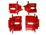 E12823S CALIPER SET-BRAKE-REBUILT-RED-EXHCHANGE-4 PIECES-97-04