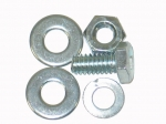 E12860 BOLT KIT-SPARE TIRE BOLT NUT PLATE BOLT-WITH NUT-TR-5 PIECES-53-62