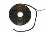 E12867 TAPE-WINDSHIELD AND REAR WINDOW-5-16 x 15 FOOT-BLACK BUTYL-64-04
