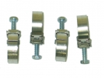 E13156 DISCONTINUED-CLAMP SET-AUTOMATIC TRANSMISSION COOLING LINES AND 63-64 FUEL SYSTEM HOSE-4 PCS-63-71