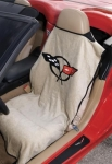 E13690 SEAT ARMOR-SEAT SAVER-WITH C5 LOGO-EACH-97-04