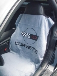 E13691 SEAT ARMOR-SEAT SAVER-WITH C4 LOGO-EACH-84-96