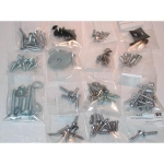 E1390 SCREW KIT-FASTENER-INTERIOR-CONVERTIBLE-65-66