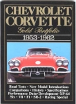 E14504 BOOK-CHEVROLET CORVETTE:GOLD PORTFOLIO-53-62